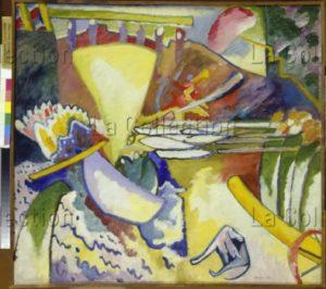Kandinsky, Vassily. Improvisation XI. 1910. Peinture. Saint Petersbourg. Musée Russe.