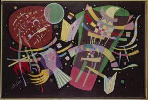 Kandinsky, Vassily. Komposition X. 1939. Peinture. Düsseldorf, Kunstsammlungen Nordrhein Westfalen.