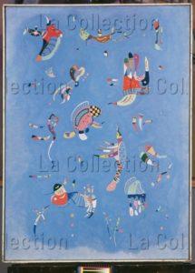 Kandinsky, Vassily. Bleu de ciel. 1940. Peinture. Paris. Musée national d'Art moderne.