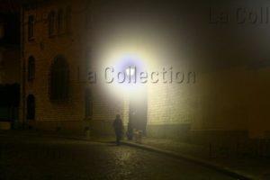 France. Paris. Montmartre, la nuit, l'hiver. 2009. Photographie de Caroline maufroid.