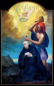 Quillerie, Césaire (XIXe siècle). Le martyre de saint Paxent. 1818. Peinture. Cluis. Eglise Saint Paxent.