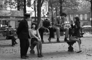 Herschtritt, Léon. Dialogue. 1970. Photographie. Collection particulière.