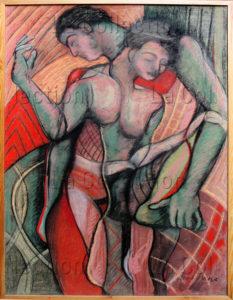 Hayet Aoudjhane. L'un, l'autre (nouvelle version). 2006. Collection particulière.