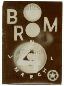 Laszlo Moholy-Nagy. Sans titre. 1922. Photographie. Essen, Museum Folkwang.