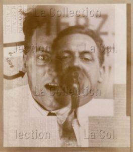El Lissitzky. Kurt Schwitters. 1924-1925. Photographie. Collection particulière.