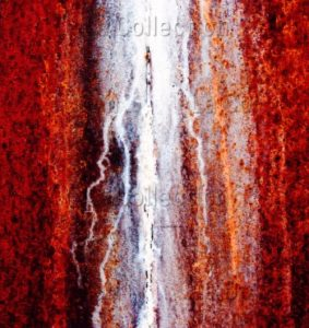 Ulf Buschmann. Rusty wall. 2007. Photographie. Collection particulière.