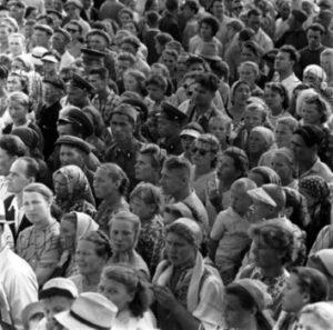 Peter Bock-Schroeder. URSS. Moscou. 1956. Photographie. Collection particulière.