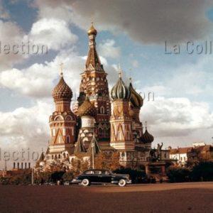 Peter Bock-Schroeder. La cathédrale Saint-Basile-le-Bienheureux, Moscou. 1956. Photographie. Collection particulière.
