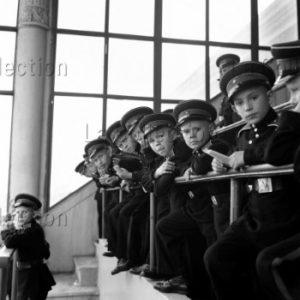 Peter Bock-Schroeder. Jeunes cadets, Moscou. 1956. Photographie. Collection particulière.