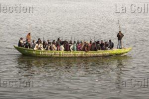 Inde. Bénarès. Sur le Gange. 2015. Photographie de Manuela Boehme.