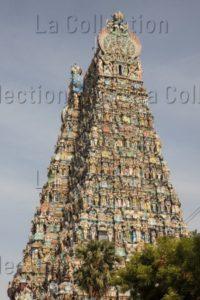 Art indien. Période Nâyak. Madurai. Temple de Minâkshî. XVIIe siècle. Architecture.