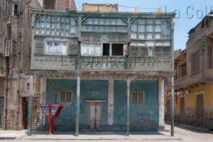 Egypte. Ismaïlia. Maison en bois. Photographie d'Arnaud du Boistesselin.