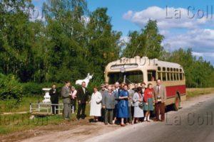 Russie. Société. Sur La Route D'Iasnaïa Poliana. 1956. Photographie. Collection Particulière.