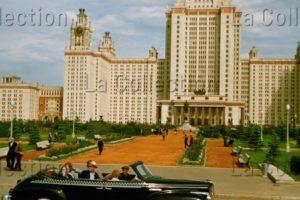 Russie. Moscou. L'université. 1956. Photographie. Collection Particulière.