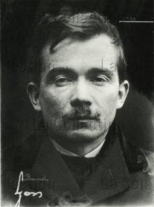 Portrait de Jules Bonnot. Vers 1910. Photographie. Collection particulière.
