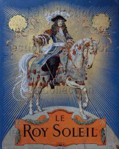 """Maurice Leloir. """"Le Roy Soleil"""". Couverture. 1904. Gravure. Collection particulière."""