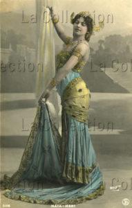 Portrait de Mata Hari. 1908. Photographie. Collection particulière.