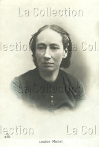 Portrait de Louise Michel. Début XXe Siècle. Photographie. Collection particulière.