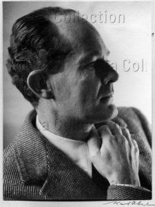 Portrait de l'artiste italien Ram (Ruggero Alfredo Michahelles). Vers 1935. Photographie. Collection particulière.