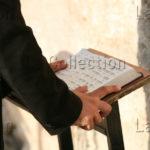 Israël. Jerusalem. Mur Des Lamentations. Juif En Prière. 2007. Photographie De Nathalie Darbellay.