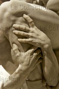 Carpeaux, Jean Baptiste. Ugolin et ses enfants. Détail : mains d'un des fils D'Ugolin. 1865 1867. Sculpture. New York, Metropolitan Museum Of Art.