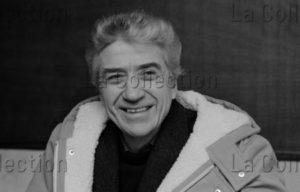 Delagarde, Jean Pierre. Portrait D'Alain Resnais, Cinéaste Français. 1982 1983. Photographie. Collection Particulière.