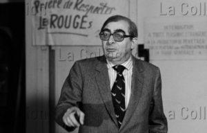 Delagarde, Jean Pierre. Portrait De Claude Chabrol, Cinéaste Français. 1982 1983. Photographie. Collection Particulière.