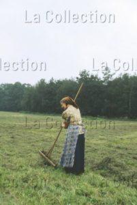 Delagarde, Jean Pierre. Allemagne (RDA). Paysanne Sorabe, Minorité Slave En RDA, Près De Bautzen. 1980 1981. Photographie. Collection Particulière.