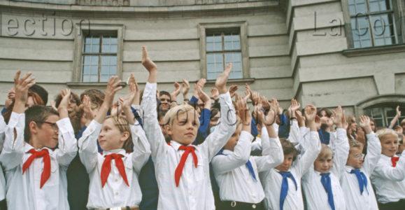 Delagarde, Jean Pierre. Allemagne (RDA). 8e Spartakiade. 1980 1981. Photographie. Collection Particulière.