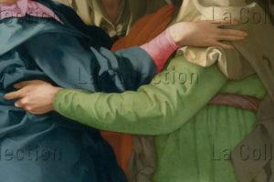 Pontormo. La Visitation. Détail. Vers 1530. Peinture. Carmignano, Pieve Di San Michele.