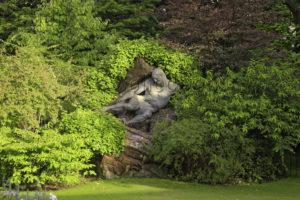 Paris. Jardin Du Luxembourg. Roche, Pierre. L'Effort. 1907. Sculpture.