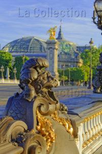 Paris. Pont Alexandre III. Détail. Photographie De Jean Michel Drouet.