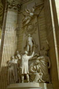 Paris. Panthéon. Marqueste, Laurent Honoré. Aux Orateurs Et Publicistes De La Restaurations. 1903. Sculpture.