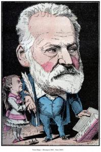 Moloch. Portrait De Victor Hugo. 1882. Gravure. Collection Particulière.