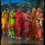 "Inde. Delhî. ""Monsoon's showers"". 2010. Photographie de Laurent Goldstein."