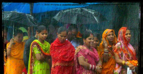 "Inde. Delhî. ""Monsoon's showers"". 2010. Photographie de Laurent Goldstein."