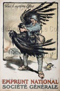 """France. Première Guerre Mondiale. """"Pour Le Suprême Effort"""". 1915. Collection Particulière."""