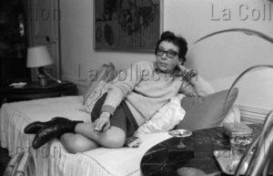 Herschtritt, Léon. Marguerite Duras. 1969. Photographie. Collection Particulière.