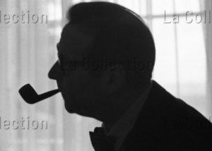 Herschtritt, Léon. Georges Simenon. 1960. Photographie. Collection Particulière.