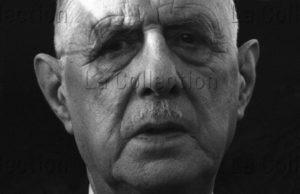 Herschtritt, Léon. Général De Gaulle. Quimper. Février 1969. Photographie. Coll. Part.