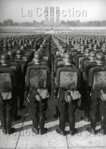 Allemagne. IIIe Reich. 10e congrès de Nuremberg. Rassemblement au Reichsparteitagsgelände. 1938. Photographie. Collection particulière.