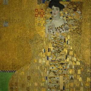 Gustav Klimt. Portrait d'Adele Bloch Bauer I. 1907. Peinture. New York, Neue Galerie.