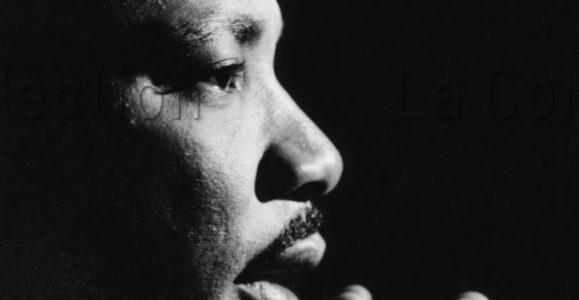 Portrait de Martin Luther King. Vers 1965. Photographie. Collection particulière.