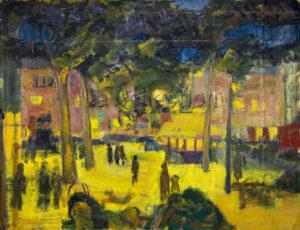 Françoise Jousselin. Toulouse. 1950-1959. Peinture. Collection particulière.