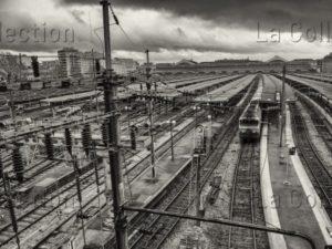 Jousselin, David. Gare de l'Est, Paris. 2014. Photographie. Collection Particulière.
