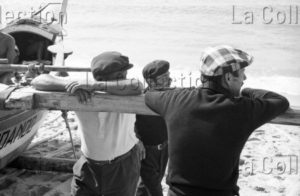 Kervella, Gilles. Portugal. Pêche Traditionnelle à Furadoiuro. 1980. Photographie. Collection Particulière.