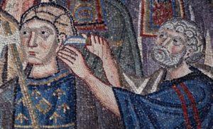 Art Byzantin. Grèce. Chios. Monastère De Nea Moni. 2e Moitié XIe Siècle. Mosaïque.