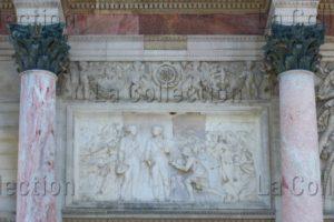 France. Paris. Arc De Triomphe Du Carrousel. Clodion. L'Entrée De L'armée Française à Munich. 1807 1809. Sculpture.