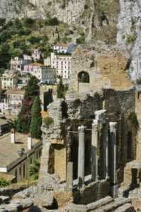 Art Gréco Romain. Sicile. Taormina. Théâtre. Mur De Scène. IIIe IIe Siècle Avt JC. Architecture.