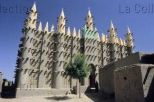 Art Islamique. Mali. Kaya. Mosquée. Détail : Façade. XXe Siècle. Architecture.